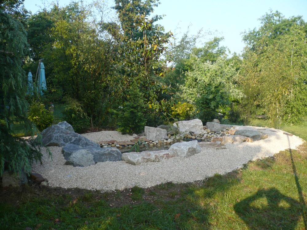 Cr Ation De Bassins Espaces Verts Jardin Arrosage Terrasses Le Porge Gironde Lp